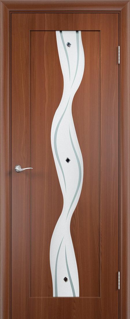 Каскад остекленная дверь