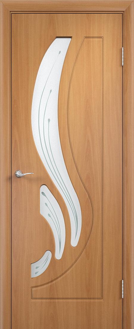 Лотос остекленная дверь